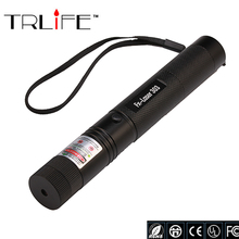 LED 10000mw 532nm Adjustable Focus Black Match Lazer Flashlight Type Green Laser 303 Pointer Pen 2000-8000meters