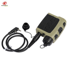 Airsoft Element Z-Tactical Zquiet PRO PTT Cabble For Kenwood Version Pins Headphone Tactical Tacticos Shooting Outdoor Hunting