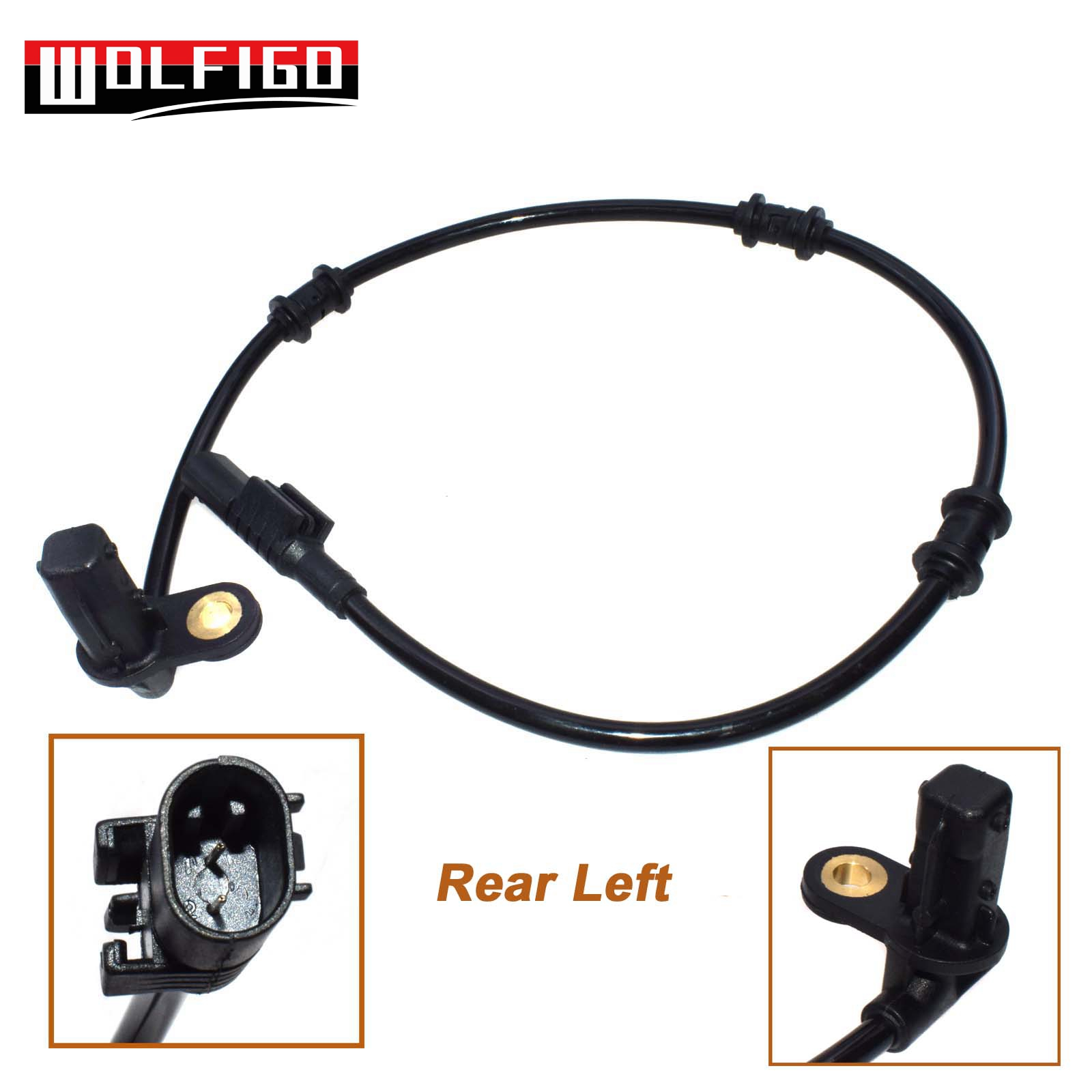 For Mercedes Benz ML500 ABS Wheel Speed Sensor Rear Left /& Rear Right 2002-2005