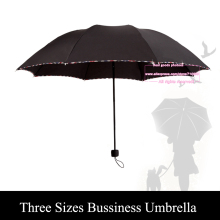 Strengthen Oversized Folding Umbrella Business Style Foldable Umbrella Women Kids Men Paraguas Inside Out Sunny Rain Protection
