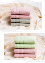 Bamboo Fiber Face Towels Super Softness Thicker Hand Towel Water Absorption Towel Baby Washcloth Lovers Towels