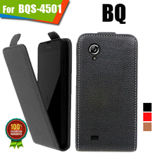 New items 100% Special Case PU Leather Flip Up and Down Case + Free Gift For BQ BQS-4501 Bristol II(China)