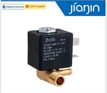 JYZ-4P Normally Closed Cannula 3mm N/C 2/2 Way AC 230V G1/8' Brass Steam Air Generator Water Solenoid Valve Coffee Makers(China)