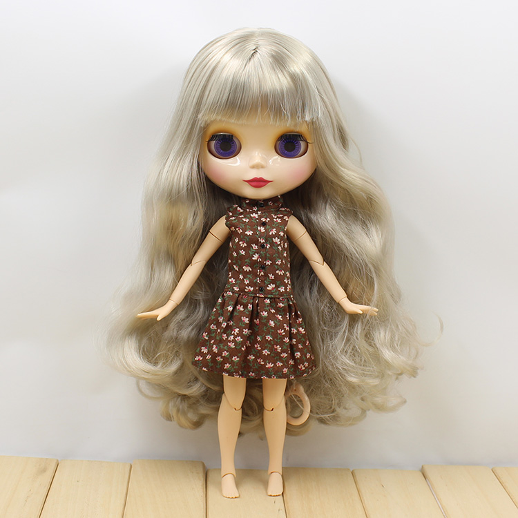 Nude Blyth doll joint body grey long hair 19 joint body bjd blyth dolls for sale<br><br>Aliexpress