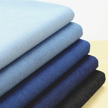 wide 1.35m,Soft elastic washed denim fabric DIY for dress pants ,75% cotton 23% polyester 2% spandex 150(China)