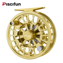 Piscifun Blaze Mid Arbor Fly Fishing Reel CNC-machined Aluminum Alloy Stainless Steel Drag System Mid-arbor Fishing Reel