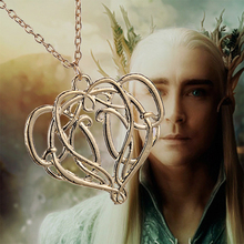 the Elves Elrond King necklace vintage gold crown pendant for men and women wholesale