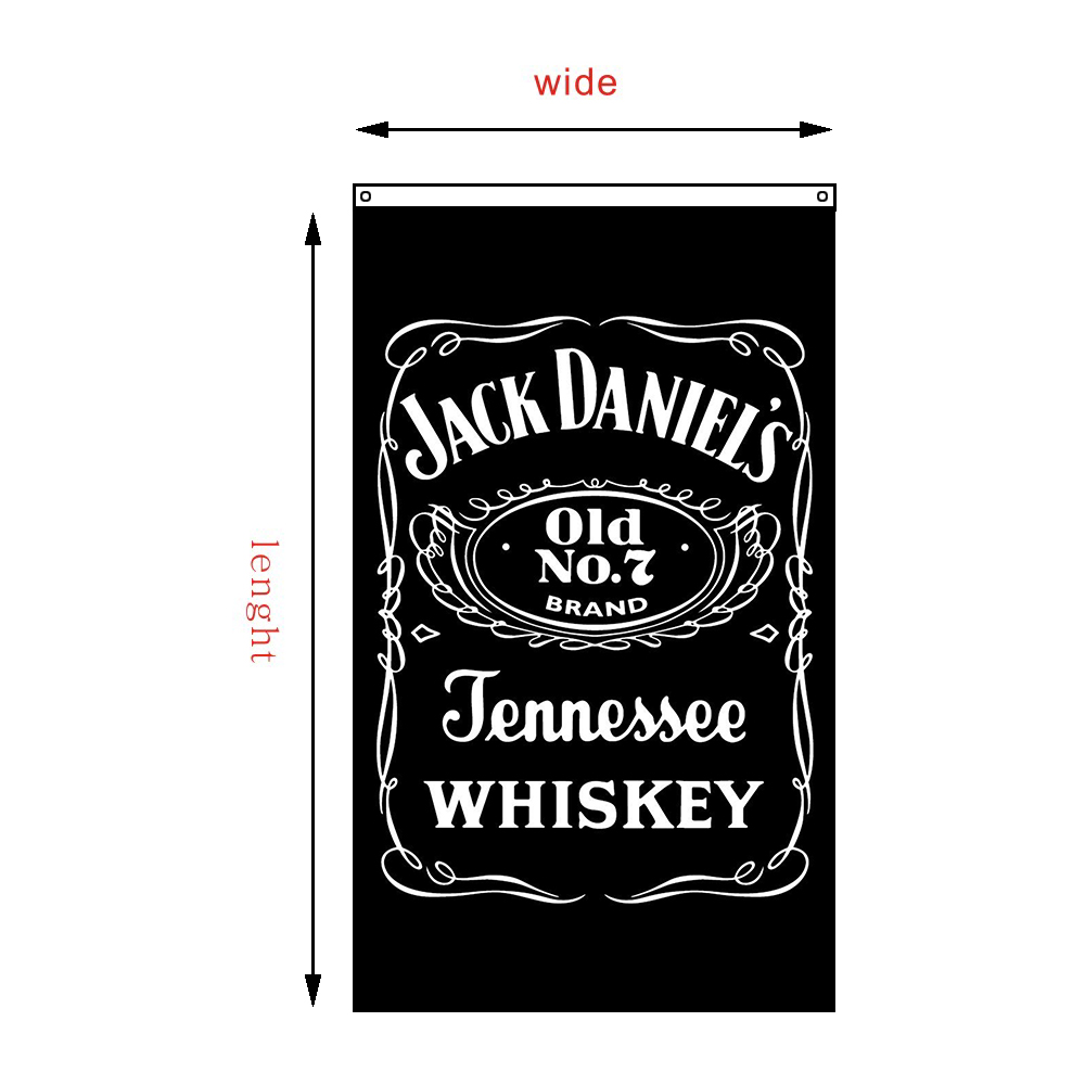 compare prices on jack daniels prints online shopping buy low 2017 jack daniels flags drink jennessee whiskey banners decorative old no 7 brand banners