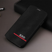 Toq Quality PU Leather Cover Flip Case For Samsung Galaxy S4 i9500 SIV Moblie Phone Bag Back Cases