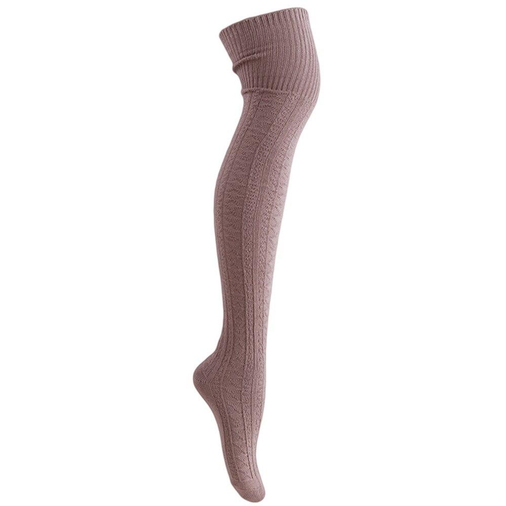 Knee Socks, Women's Cotton Thigh High Over The Knee Stockings, Ladies, Girls, Warm Long Stocking Sexy 41