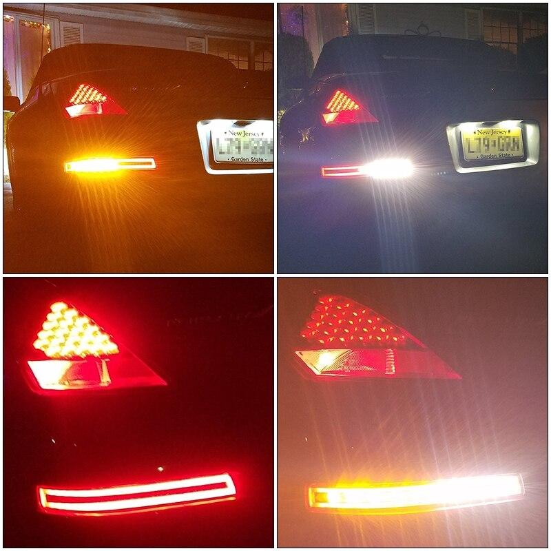 Clear Lens Led brake Light For Nissan 350Z-1