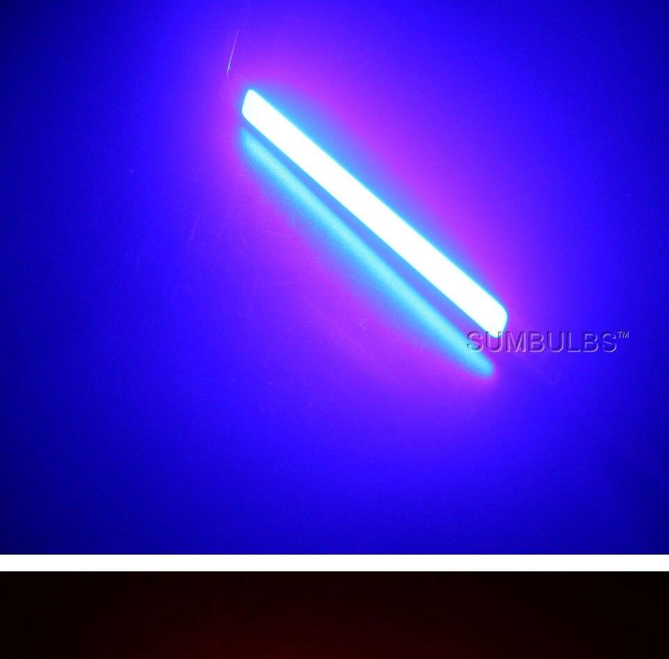 120mm 12v 10w 1000LM cob led light strip chip bulb lamp red blue white (11)