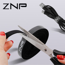 ZNP Cable 주최자 선 와인 더 홀더 Earphone 마우스 끈 Clip Protector USB Cable Management 대 한 iPhone Micro USB 형 C(China)