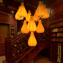 Japanese chandeliers coffee shops garden restaurants study chandeliers zb25(China)