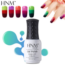 HNM 8ml Thermal 3 Color Change Gel Nail Polish Mood Nail Gel Polish UV LED Semi Permanent GelLak Thermo Hybrid Varnish Gelpolish