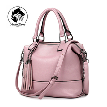 New Brand High Quality Designer Women Boston Bag Imitation Leather Bag Women Crossbody Bag Pink Ladies Tote