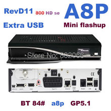2014 new arrival REV D11 sunray 800 HD se Sim a8p card digital satellite receiver BCM4505 tuner for dm 800hd(China)