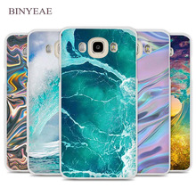 BINYEAE The waves Ocean water Cell Phone Case Cover for Samsung Galaxy J1 J2 J3 J5 J7 C5 C7 C9 E5 E7 2016 2017 Prime