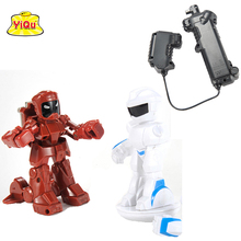 New arrival wholesale Remote Radio Control Battle Robot Arbitrary manipulation rc robot battle fighting robot(China)