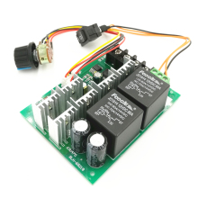 DC9-50V 40A DC Motor Speed Control Reversible PWM Controller 12V 24V 48V 2000W Forward Reverse Switch(6.8)