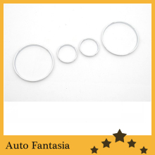 Flexible ChromeTrim Chrome Gauge Ring -for BMW E53 X5 Series- free shipping(China)