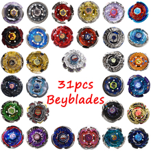 31pcs/set Beys Toy For Sale Spinning Top Puzzle Toy Beyblade Set With Launcher And Original Box #E(China)