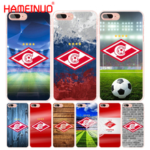 HAMEINUO spartak moscow football cell phone Cover case for iphone 4 4s 5 5s SE 5c 6 6s 7 8 X plus(China)