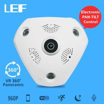 LEF 360 Degree Panorama Camera 1.3MP & 3.0MP WIFI IP Camera Home Security Camera Surveillance Remote Control CCTV Camera