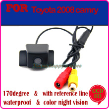 CCD HD car rear camera car monitor parking system backup viewer reversing monitor rear sensor for TOYOTA CAMRY 2008(China)
