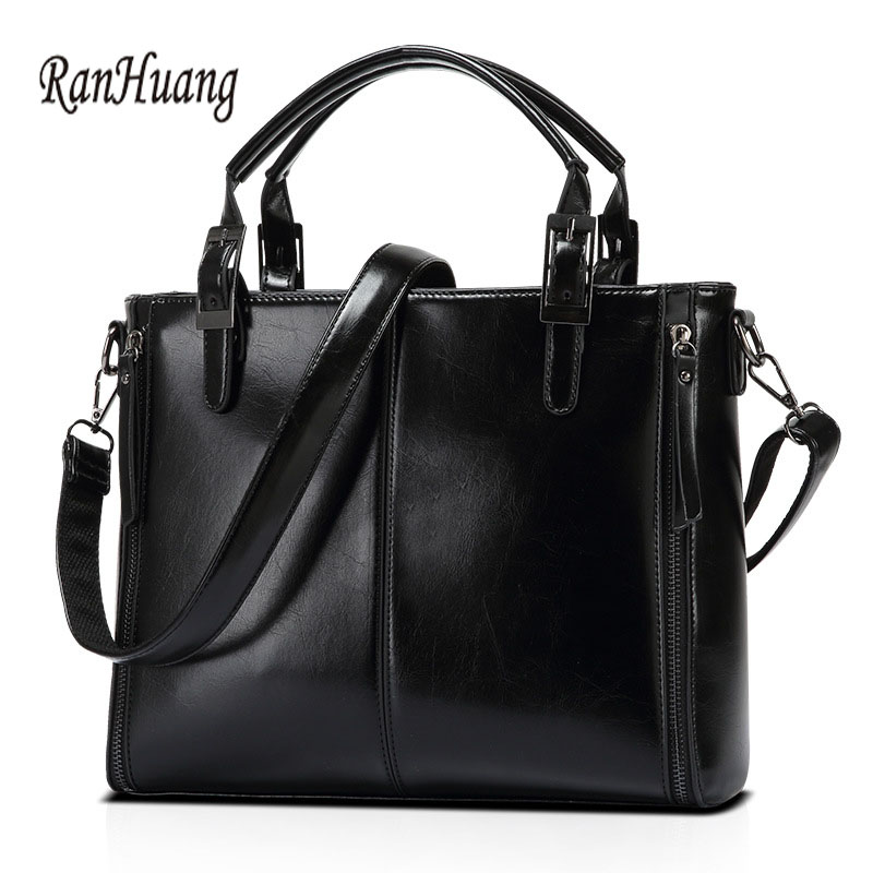 RanHuang Women Fashion Handbags High Quality PU Leather Handbags Hot Sale Womens Black Shoulder Bags Luxury Messenger Bags A613<br>