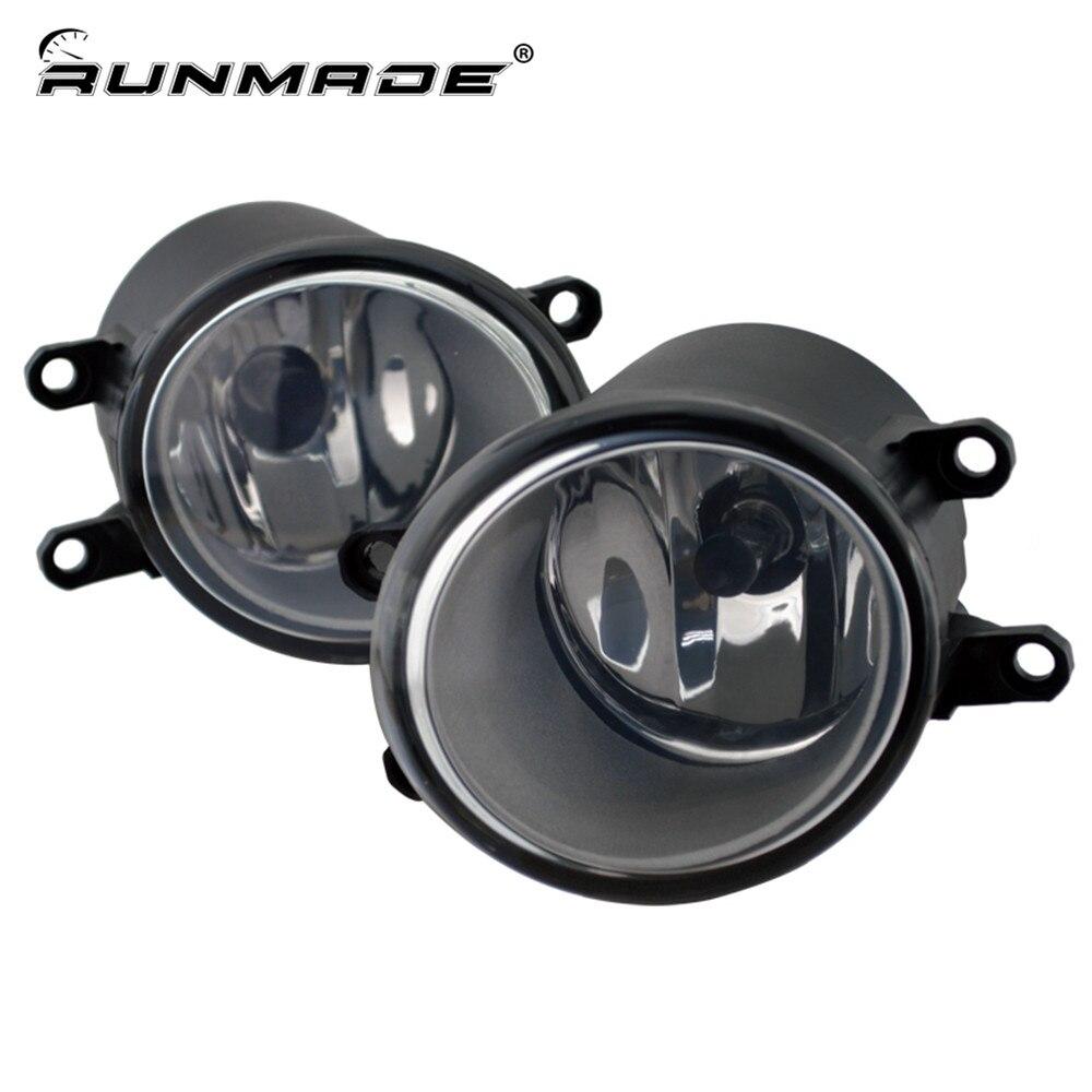 runmade For Toyota RAV4 Camry Solara Yaris Matrix Corolla Prius Sienna Lexus Scion Fog Light Lamp Left &amp; Right Side<br>
