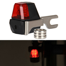 Buy M58 Bicycle Disc Brake Safety Light Set Batteries Mountain Bike Rear Light Cycling Taillight Red LED Warning Lights LT0093 for $10.99 in AliExpress store