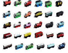 10pcs/set  Crane Thomas And Friends Trains Diecast Magnet Loose Toys Model For Chlidren Gifts