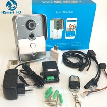 New Wifi video door phone doorbell Wireless Intercom Support 3G 4G IOS Android for Android IOS Smartphone Remote View Unlock