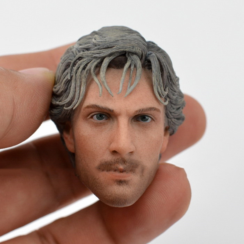 1/6 Scale The Avengers Two Quick Silver Male Head Sculpt Models For 12 Inches Mens Figures Bodies<br>