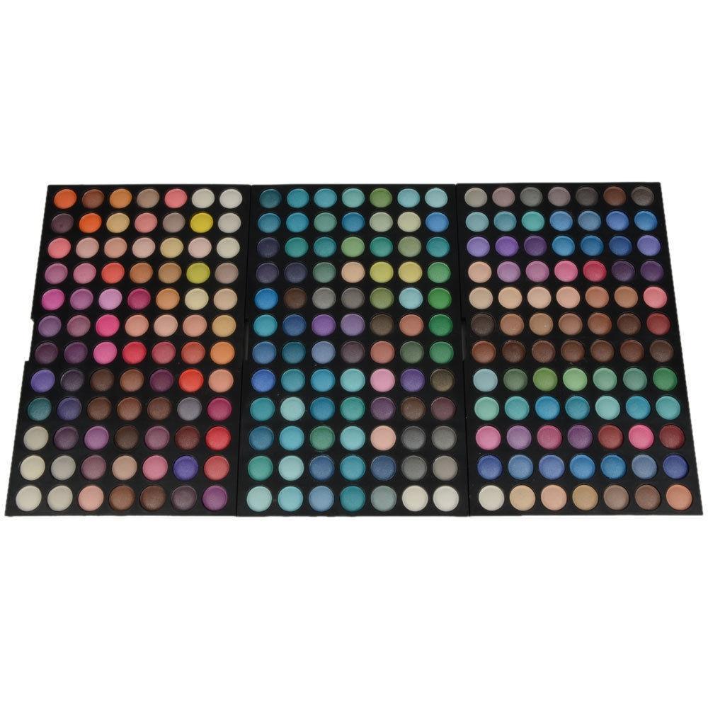 Fashion 252 Color Cosmetic Shimmer Matte Eye Shadow Makeup Eyeshadow Palette Set<br>