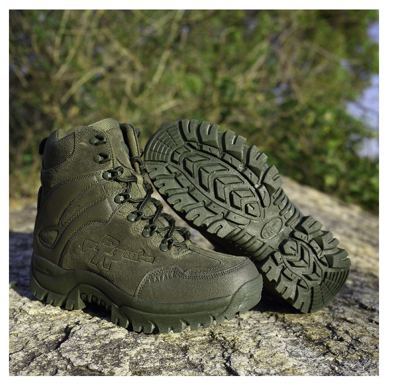 Brand Men's Boots Military boot Chukka Ankle Bot Tactical Big Size Army Male Shoes Safety Combat Mens Motocycle Boots (19)