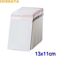 (110*130mm) 100pcs/lots White Pearl Film Bubble Envelope Courier Bags Waterproof Packaging Mailing Bags CL-2022(China)