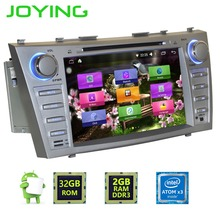 "Joying Double 2 Din 8"" Quad Core Car Radio Stereo Tape Recorder Head Unit For Toyota Camry Android 6.0 Music Player(China)"
