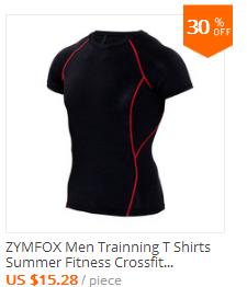 Men Training T shirt Fitness