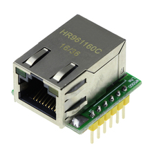 Smart  Electronics for arduino W5500 USR-ES1  Chip New SPI to LAN/ Ethernet Converter TCP/IP Mod