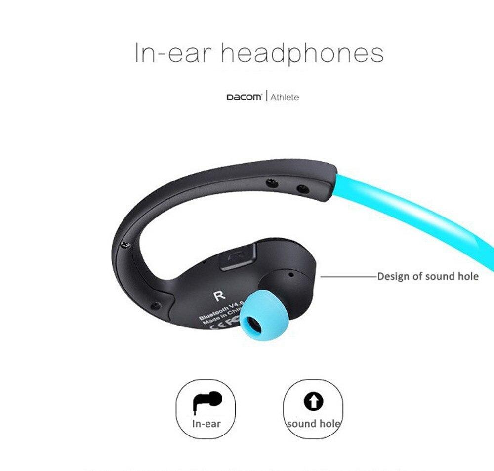 Dacom G05 IPX4 running swimming ear headset stereo sport earphone wireless bluetooth headphone for samsung blutooth headset