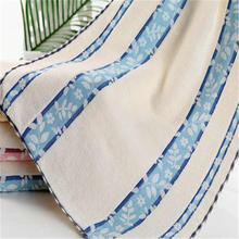 Printed Cotton Terry Towel Flower Toweling Fabric Toalha Microfibra Home Bathroom Luxury Magic Face Towels For Adults DDC135