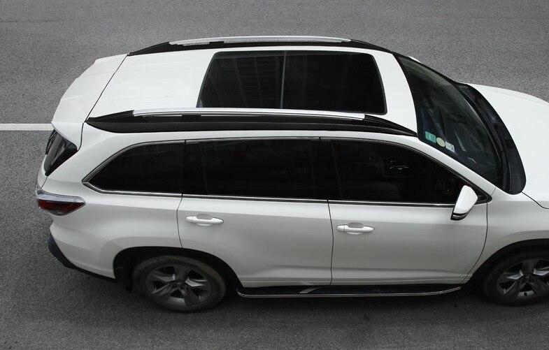 US Fit Toyota Highlander 2014 2015 16 2017 2018 2019 luggage roof rail roof rack