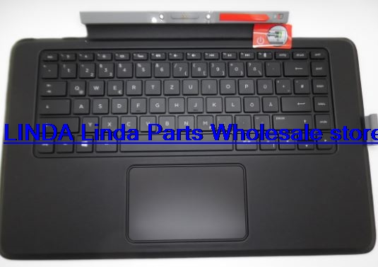 Laptop Keyboard base for HP For ENVY X2 13-j000 Russia RU 796692-251 KBBTA2811 gray with backlight and TouchPad<br><br>Aliexpress