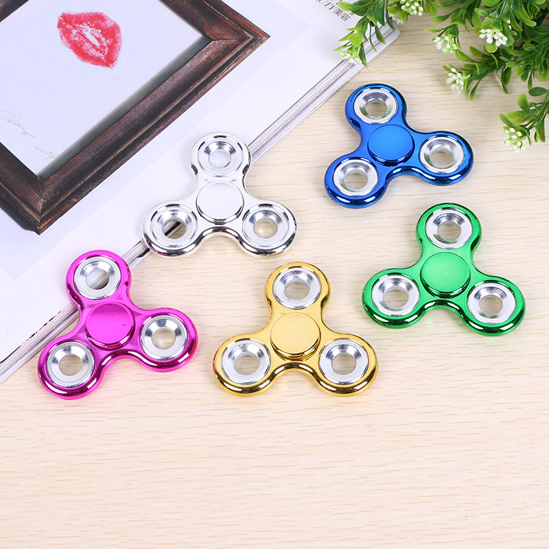 Beautiful Fidget Toy Metal Stress EDC Anti Stress Finger Hand Spinner Child Adult Multicolor Toys Gift Autism SpinerX