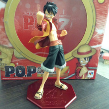 Free Shipping Anime One Piece Edition Film Z Monkey D Luffy POP PVC Action Figure Collection Toy 25cm OPFG264