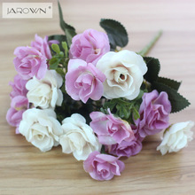 Austin 15 heads Autumn Fake Silk Flowers Artificial Rose Wedding Party Home Decor Flower Arrangement