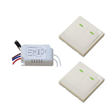 Hot Sales Remote Control Switch AC220V Receiver Wall Transmitter Wireless Power Switch 315/433MHZ Radio Controlled Switch Relay