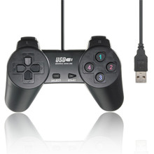 Wired USB 2.0 10 Keys Game Controller Gamepad Joystick Joypad for PC Laptop Computer for XP Vista Windows 7 8 Game Pad Controle